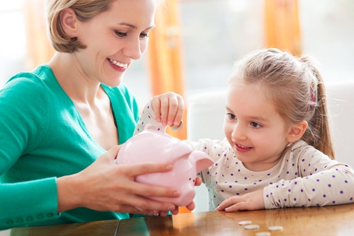 The BASIC's of money management best learned in childhood